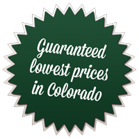 Gauranteed Lowest Prices in Colorado.
