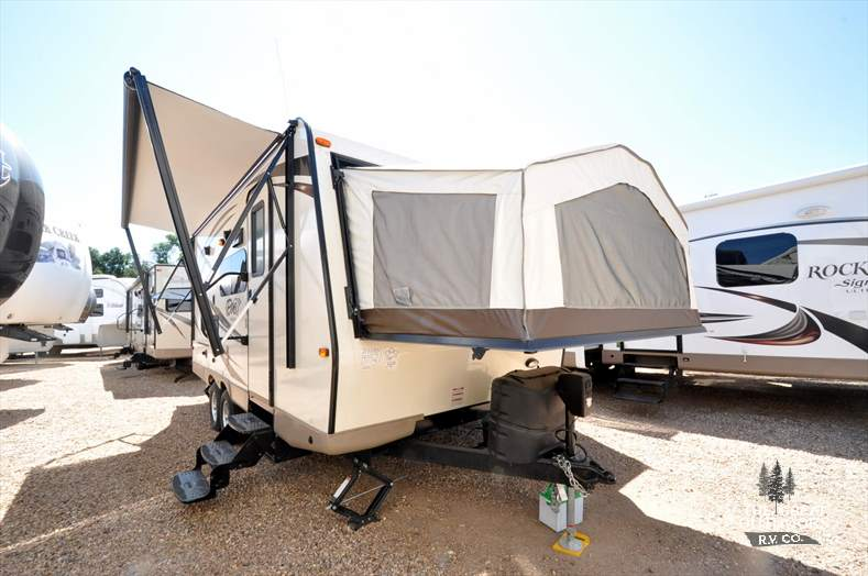 Forest River Rockwood 21SS exterior