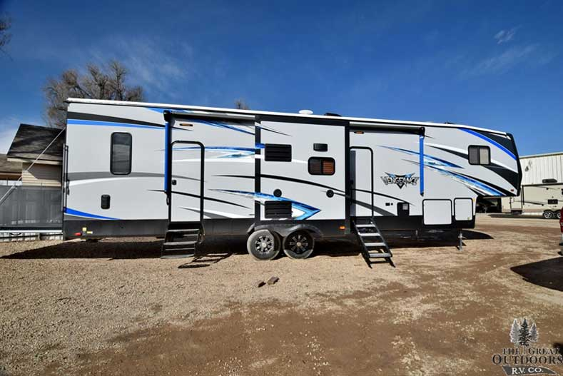 The Great Outdoors RV V148 - 2018 - Forest - River - Vengeance - 320A Passenger side exterior
