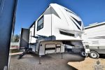 The Great Outdoors RV Co. V168 2019 Forest River Vengeance 348A13- Front passengers side exterior w/slide out