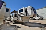The Great Outdoors RV 2018-Cedar-Creek-Hathaway-38FLX Front drivers side exterior w/slides out